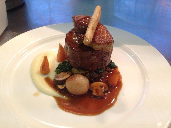 Enterkine House Hotel: Orkney beef fillet with foie gras