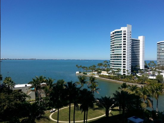 The Ritz-Carlton, Sarasota : View from the room (5th floor)
