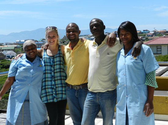Crayfish Lodge Sea & Country Guest House: Super nettes Team :)