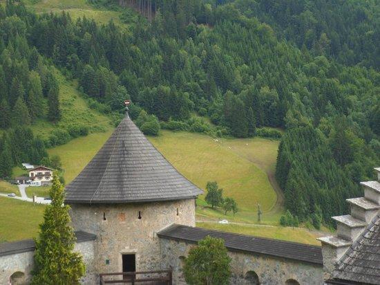 Erlebnisburg Hohenwerfen: view from the top