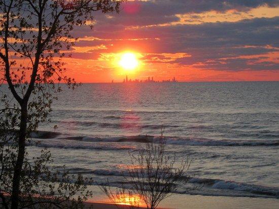 Chesterton, IN: Dunes Sunset