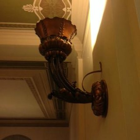 Central Public Library: decorative wall sconces