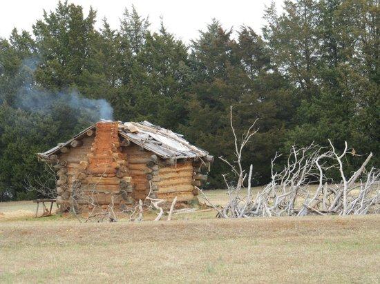 Fort Dobbs: Cabin