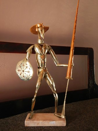 Moron, Κούβα: Don Quixote sculpture
