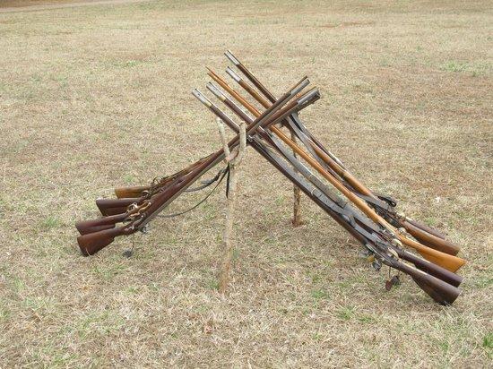 Fort Dobbs: Rifles