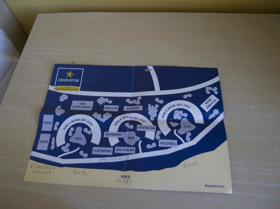 IBEROSTAR Lanzarote Park : Hotel plan