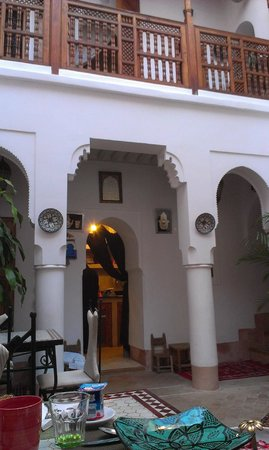 Riad Slawi : View from the main area