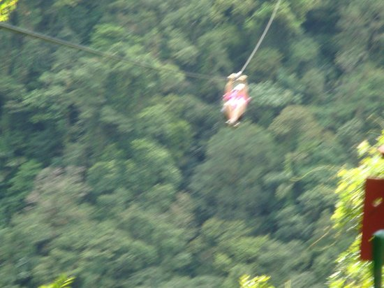 Lake Arenal: ziplining at Arenal