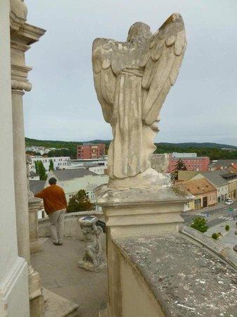 Bergkirche : Oben auf den Kalvarienberg