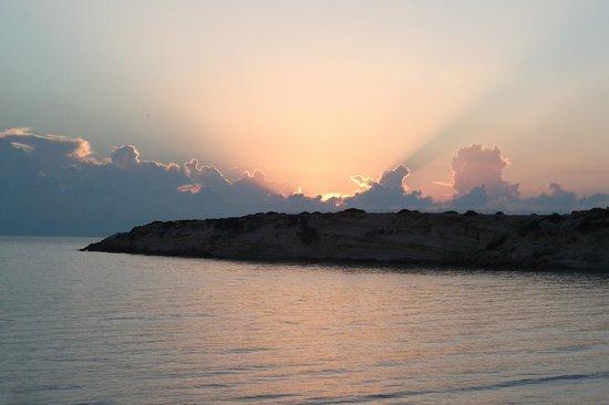 Coral Bay: Закат... И так все видно