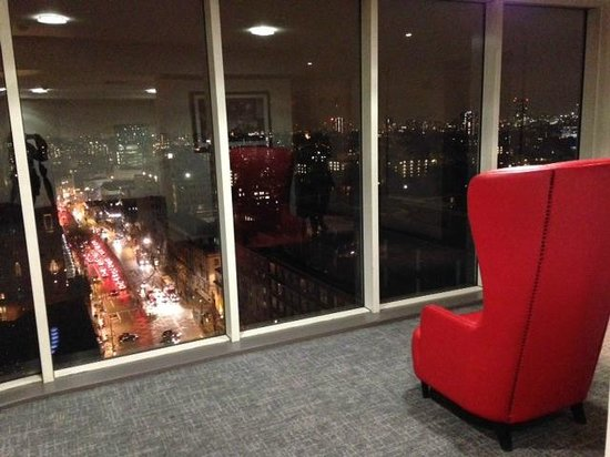 Pullman London St Pancras : view from our floor