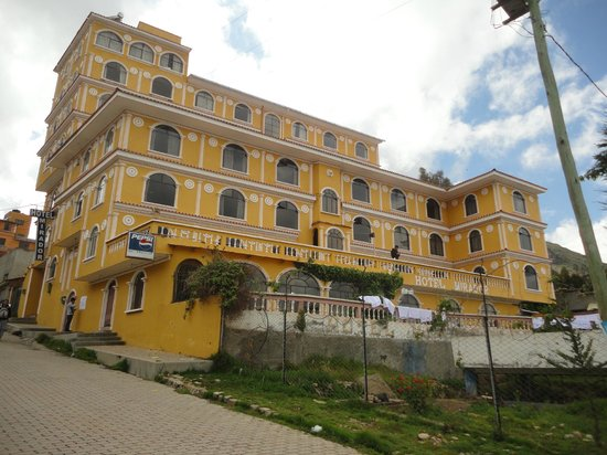 Hotel Mirador: las ventanas dan hacia el lago