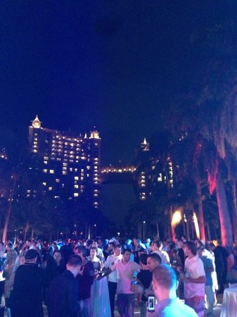 Atlantis, Royal Towers, Autograph Collection : PokerStar's Party at night