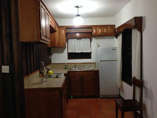 duPlooy's Jungle Lodge : Kitchen