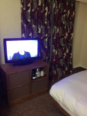 Hilton London Olympia: chambre annee 70