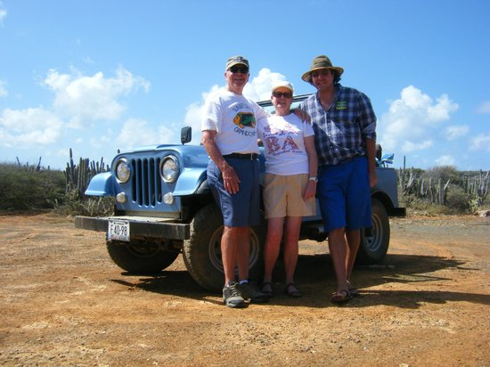Sun Reef Village: Our Jeep adventure with Bert