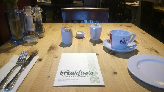 The Millers Arms : Breakfast