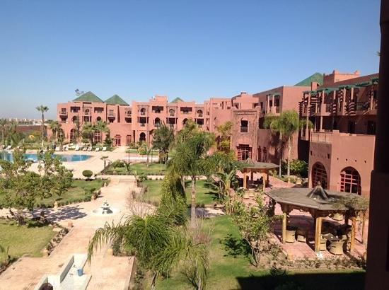 Palm Plaza Marrakech Hotel & Spa: The Hotel Gardens