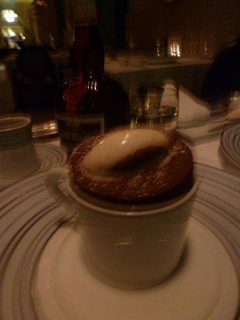 Bord Eau : chocolate souffle