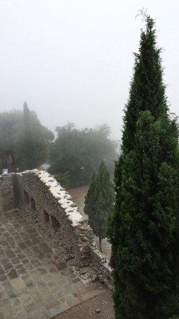 Fortezza di Girifalco: Tempo brutto ma capace di rendere tutto ancora più pittoresco