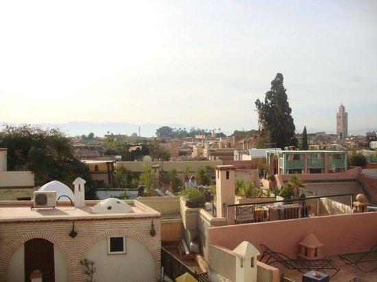 Dar Moulay Ali : Aussicht vom Dach des Riad