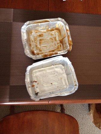 La Belle Patate : Gravy was missing in one!
