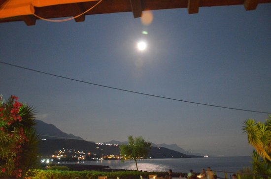 Melitsina Village Hotel : View from the bar area
