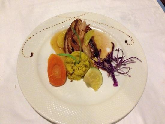 Grand Palladium White Sand Resort & Spa: Duck dinner so yumm