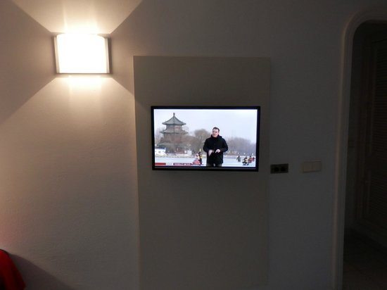 Marconfort Atlantic Gardens Bungalows: Flat screen TV in the lounge