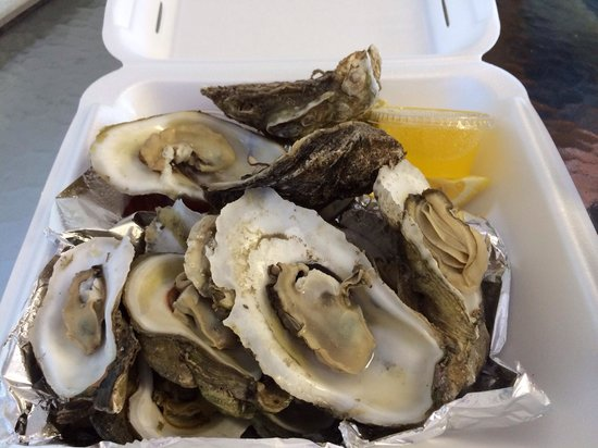 Ocean's Seafoods: Steamed Oysters