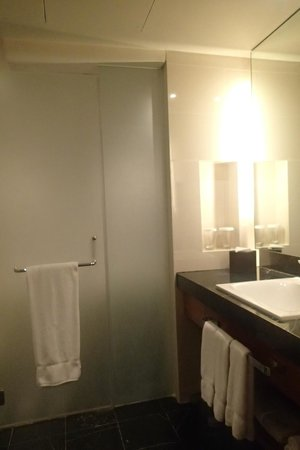 Radisson Blu Cebu: main washroom of the Deluxe room
