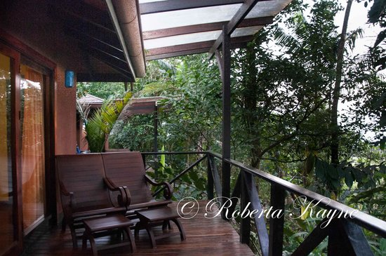 Rio Celeste Hideaway Hotel : Balcony of our Room