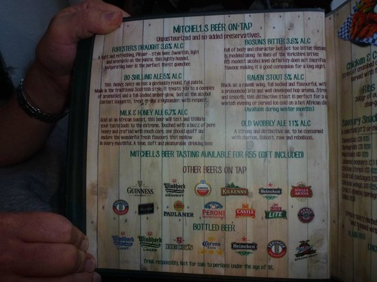 Mitchell's Scottish Ale House : Locally Brewed Ales