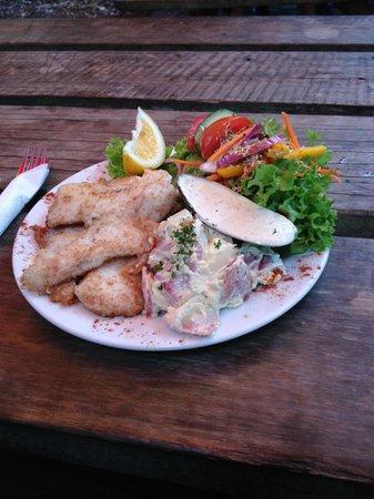 Mussel Inn: Fish main - Yummy!