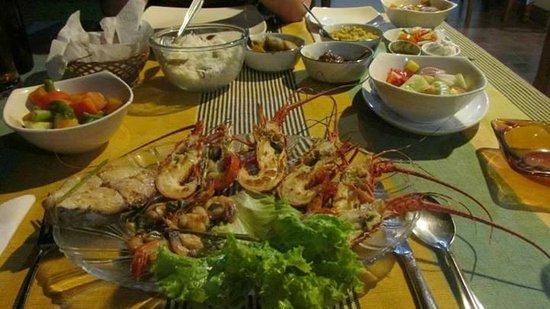 Nuga Eden Villa Tangalle: Dinner