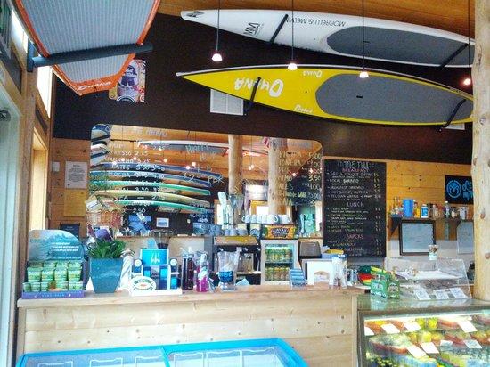 Watermans Landing: SUP Cafe!
