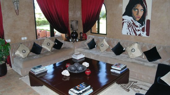 Riad Al Mendili Kasbah: Salon