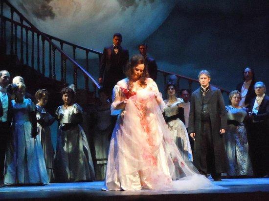Scala de Milan (Teatro alla Scala) : scena da Lucia di Lammermoor