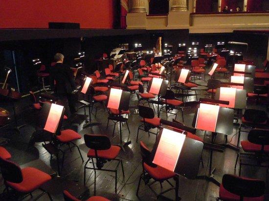 Scala de Milan (Teatro alla Scala) : buca dell'orchestra