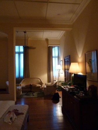 The Strand: Room at dusk