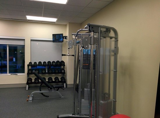 Hilton Garden Inn Sioux Falls Downtown: Decent weights