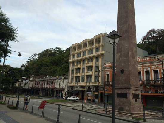 Grande Hotel Petrópolis : Hotel bem no centro da cidade