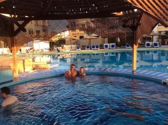 Panorama Bungalows Resort El Gouna : jacuzzi