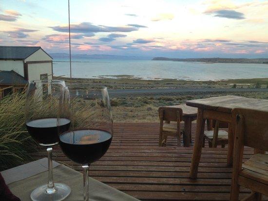 Hosteria La Estepa: Cena romántica