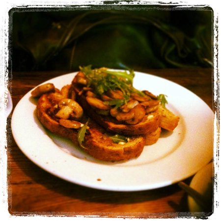 Coffee Culture: The simplest dish of mushroom on toast is made to perfection!