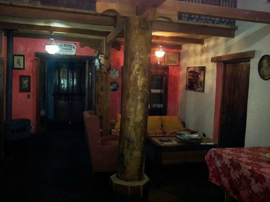 La Calma de Rita: Interior del restaurant