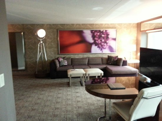 MGM Grand Hotel and Casino : chambre