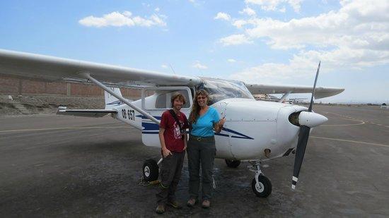 Lineas de Nazca: The plane