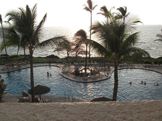 Sheraton Kona Resort & Spa at Keauhou Bay: view from balcony