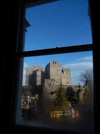 The George Hotel : View through room window